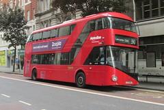 LT40, New Oxford Street, London, 15/06/15 (aecregent) Tags: london wright hybrid lt newoxfordstreet 390 metroline nb4l nbfl newroutemaster lt40 comfortdelgro 150615 newbusforlondon borismaster ltz1040 londonbuses2015