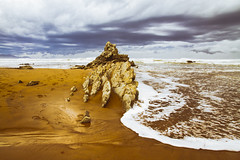 SOPELA (T.Miravalles) Tags: naturaleza nature landscapes mar playa natura paisaje cielo olas rocas clima paisaia sopela canon7d canon1585 temporalbizkaiafebrero2016