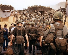 Arrival of U.S. Army troops in Vietnam. 1967 (Peer Into The Past) Tags: history square squareformat 1967 usarmy vietnamwar iphoneography instagramapp peerintothepast