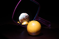 shedding some weight (pandaphotos1485) Tags: orange fruit photoshop canon photography resolution trick trickphotography canon70200lis canon7d