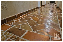 Saltillo Tile Flooring (mcstandr) Tags: ranch home fountain stone architecture tile rustico fire design mediterranean floor outdoor rustic colonial mexican spanish cast clay limestone interiordesign firepit cantera spanishtile saltillo southwestern tilefloor paver tuscan revival floortile mexicantile claytile interiordecorator walltile saltillotile saltilo salito mexicanpaver saltillotileconnection