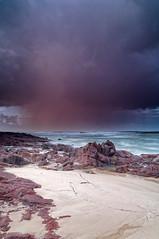 Winter Rains (Lost Dingo) Tags: seascape australia nsw fishermansbay boatharbour