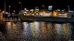Windy Water (Emil de Jong - Kijklens) Tags: storm water colors night wind nacht brug alkmaar texelse mallegatsplein noordhollands noorderkade kleurel kijklensnl kanaakade