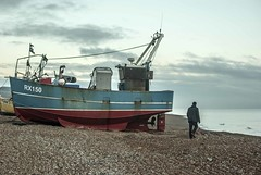 Fisherman (Kirsty Ann Photography) Tags: city uk travel sea england english beach port boats photography seaside fishing nikon pebbles pebblebeach hastings eastsussex travelphotography fishingport nikond40x