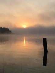 Reflejos de un amanecer
