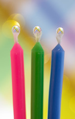 Birthday Party (craftyalliekat) Tags: birthday party water closeup nikon candle drop refraction droplet d7200