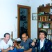 Ali Balkan, Ali & Recep having drinks, Wayne 1990s
