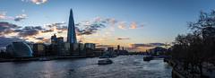 Shard Panorama (RCARCARCA) Tags: panorama london thames canon londonbridge river boat shard riverthames 2470l countyhall morelondon 5diii