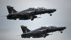 Hawk Pair (darrenijames) Tags: tattoo demo nikon hawk air 4 july systems valley bae f28 raf t2 role squadron fairford riat 400mm 2015 d7200