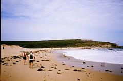 Marley Beach (timothybrennan) Tags: summer film beach 35mm bush sydney olympus 35mmfilm nsw royalnationalpark olympusxa3