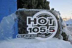 HOT 105 ice sculpture pb (Patricia Bourque Photographer) Tags: events pei snowfestival jackfrost jackfrost2016