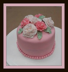 Flower cake by Bucks County, Pennsylvania, www.birthdaycakes4free.com