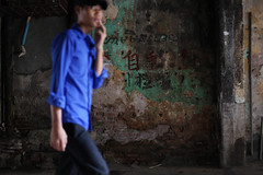 Street  Phnom Penh (Jules en Asie) Tags: world street travel blue boy people men wall asian julien asia cambodge cambodia cambodian khmer young asie phnom nationalgeographic penh asiatique reflectionsoflife lovelyphotos jules1405 cambodgien unseenasia earthasia mailler