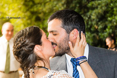 I now pronounce you... (javier_larroulet) Tags: wedding groom bride kiss outdoor matrimonio beso firstkiss 2015 matrimoniocivil primerbeso clubprovidencia magdapancho