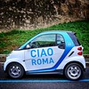 Ciao Roma (Philippe Vieux-Jeanton) Tags: italy rome car little share