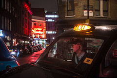 IMG_8368 (Zefrog) Tags: uk london night cab taxi mousetrap westend blackcab theatreland zefrog