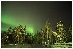 beauty behind the polar circle (i.v.a.n.k.a) Tags: longexposure winter light finland circle lappland arctic nightsky polar ivana auroraborealis arcticcircle sonyalpha hesova