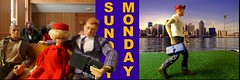 The Word on Sunday prepares me for the world on Monday (MayorPaprika) Tags: vintage gijoe toy barbie story bible 16 ideal custom mattel toolbox evelknievel