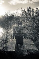 down by the river IX (sebboh) Tags: oregon portland graffiti cityscape flare pdx toned willametteriver urbex rokkormd28mmf2 sonya7