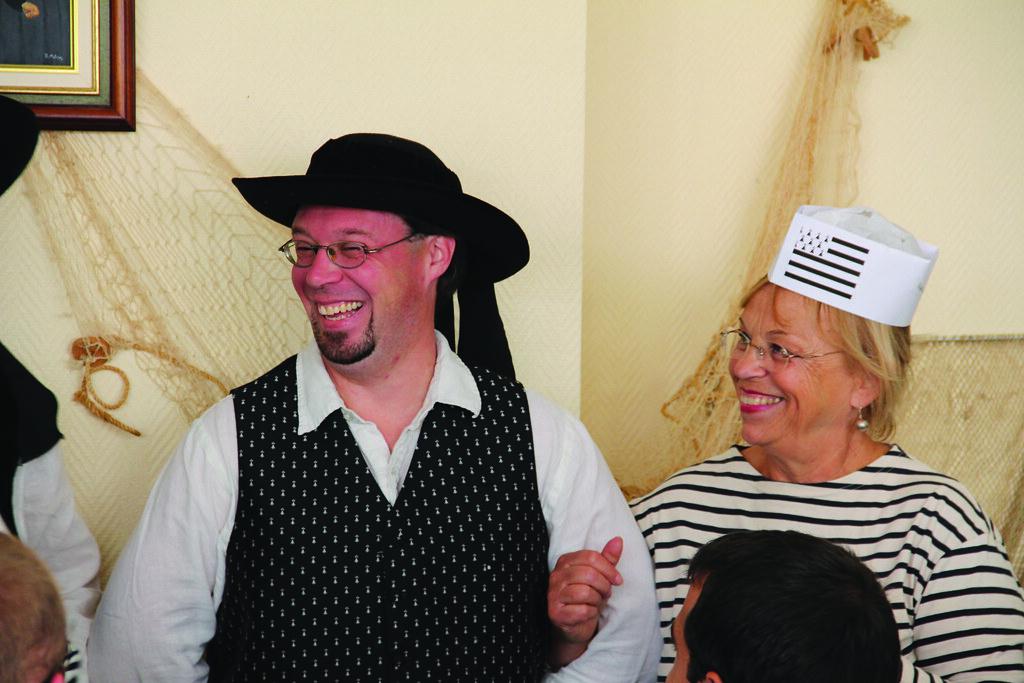 Semaine bleu - Repas breton - 2015