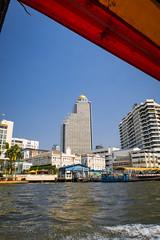 Lebua from Chao Phraya River (hathaway_m) Tags: thailand bangkok chaophrayariver rooftopbars
