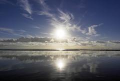 Paradise - Explored! Thank you :-) (Fotomondeo) Tags: sea sky españa beach valencia sunrise reflections mar spain playa alicante cielo reflejos alacant amanacer playadesanjuan samsungnx1000