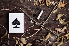 03292016-1 (Daniel Cervantes Cuen) Tags: wood rustico photography design madera branch cigarette daniel rustic madison elegant cartas leafs mago diseo cervantes playingcard magician magia elegante cigarros ellusionist danielmadison
