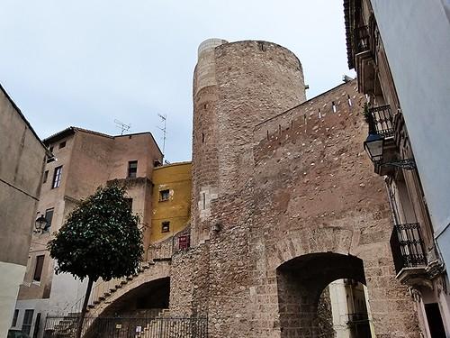Muralla y torre medieval de Segorbe