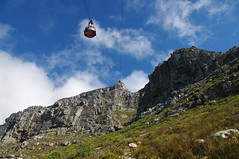 Cable Car, Cape Town, South Africa (ARNAUD_Z_VOYAGE) Tags: africa street city mountain building art beach nature architecture table landscape town state action south country capital cap le cape region department metropolitan municipality