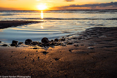 Holme Sunset 1 (granth2903) Tags: sunset sea sky seascape beach water sand dusk north norfolk shoreline shore waterscape canon1740l nothdr wwwgranthardenphotographycom sonya7ii
