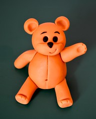 Sugar Teddy (Kennet House Cakes) Tags: birthday cake child teddy drum circus class course