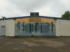 You can make it anywhere (rickele) Tags: urban skyline graffiti mural sacramentocounty urbanity mcclellanhighschool antelopecalifornia