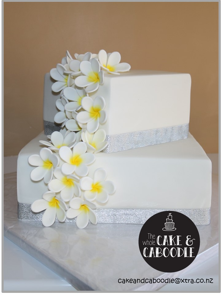 Frangipani The Whole Cake And Caboodle Lisa Tags Wedding Cakes