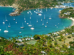 antigua - nelsons dock yard (Photo Everywhere) Tags: beautiful islands bay yacht tropical caribbean yachts landscpae yachting secluded leeward sheltered