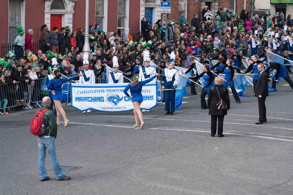 Christopher Newport University Marching Captains-112409