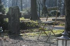Begraafplaats Rosendael (=Mirjam=) Tags: chair begraafplaats maart 2016 rozendaal nikond300s