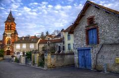 Calamane ( Lot - France) (Denis Vandewalle) Tags: blue house clouds landscape village lot nuages paysage maison hdr nuance quercy midipyrnes calamane