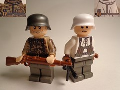 German torsos by United-Bricks review! (JW_Productions) Tags: world winter war lego review camo ii germans unitedbricks