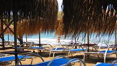 Kini beach IMG_9077 (mygreecetravelblog) Tags: landscape island town village waterfront outdoor greece grecia greekislands cyclades syros sunbeds kini siros kinibay syrosgreece kinibaysyros beachresortarea