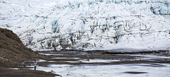 Vatnajokull Glacier, Iceland (Gabriela Iacobuta) Tags: mountain snow cold ice scale water river spring big melting glacier huge melt gigantic enormous 5photosaday