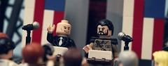 Election Day: Part 2 (Andrew Cookston) Tags: usa macro comics photography dc lego president superman minifig dccomics custom lexluthor vandalsavage andrewcookston