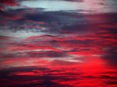 Sunset (turgidson) Tags: ireland sunset red sky 6 weather clouds studio four lumix evening spring raw zoom g dramatic olympus panasonic telephoto developer micro april pro wicklow atmospheric bray omd mega thirds conditions ois vario 100300mm m43 silkypix f4056 em5 mirrorless microfourthirds hfs100300 panasoniclumixgvario100300mmf4056megaois olympusem5 olympusomdem5 silkypixdeveloperstudiopro6 p4214799
