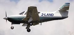 Rockwell Commander 114B 2-LAND Lee on Solent Airfield 2016 (SupaSmokey) Tags: lee solent rockwell commander airfield 2016 2land 114b