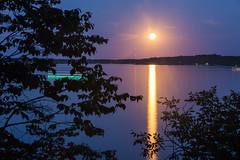 blue moon (eb78) Tags: longexposure minnesota fullmoon moonrise mn bluemoon tenmilelake