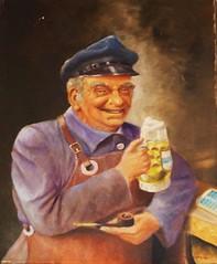 Neufang Brauerei (micky the pixel) Tags: beer museum germany painting deutschland pipe picture bier bild saarland pfeife saarbrcken gemlde bierkrug beermug schalander brauereimuseum bierkutscher mangelhausen brewersdrayman neufangbrauerei