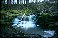 Log in the Falls (Sharon Dow Photography) Tags: uk longexposure mountain holiday nature water beautiful grass wales clouds forest trekking wow river walking landscape waterfall log woods nikon scenery whitewater stream view britain hiking cwy ngc riverusk breconbeacons hills waterfalls attractive fields usk waterworks naturalworld aber midwales 2016 clydach blaenyglyn talybontreservoir milkywater theblackmountains caerfanell nantbwrefwr glyncollwn gwauncerrigllwydion headoftheglen blaencaerfanell nikond7100 sharondowphotography april2016 streamofbwrefwr llansantffraedjuxtausk nanttarthwynni mynyddoeddduon