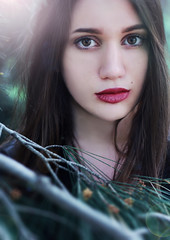 True beauty (Meho Tabakovic) Tags: woman green nature colors fashion model colorful emotions