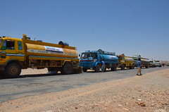 Water tankers sent to drought-hit Nugaal, Puntland (Ummah Welfare Trust) Tags: poverty africa charity food water children hope desert islam aid hunger muslims development humanitarian somalia somaliland developing puntland humanitarianism nugaal awdal