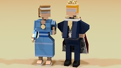 My King and Queen (hanstolhuisen) Tags: lego creator minilland