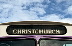 Christchurch (stephen trinder) Tags: old newzealand christchurch sky bus buses station sign landscape typography rusty nz type destination lettering kiwi retired aotearoa ferrymead christchurchnewzealand stephentrinder stephentrinderphotography
